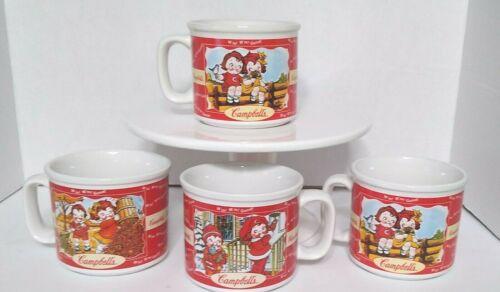 Set of 4 Vintage Campbell