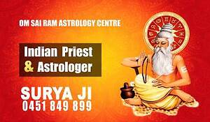 SURYA JI Love psychic and Indian Astrologer Pendle Hill Parramatta Area Preview