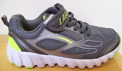Boys LA GEAR Gray Memory Foam Light Weight Sneakers Sz 11 NEW for sale  Jacksonville