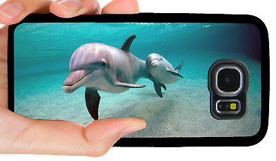 DOLPHIN DOLPHINS PHONE CASE COVER FOR SAMSUNG NOTE GALAXY 3 S4 S5 S6 S7 S8 S9
