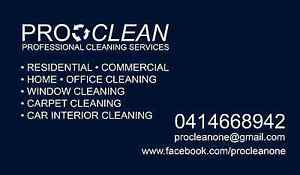 PRO CLEANING SERVICES HOME OFFICE CARPET WINDOW CAR CLEANER Collaroy Manly Area Preview