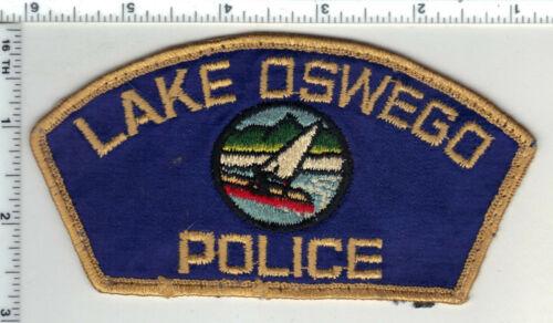 Lake Oswego Police (Oregon) 1st Issue Uniform Take Off Shoulder Patch