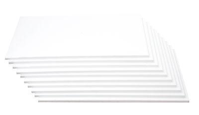 Dünne Styroporplatten 1cm (10 mm) zum Basteln / Dekorieren 10 er Set
