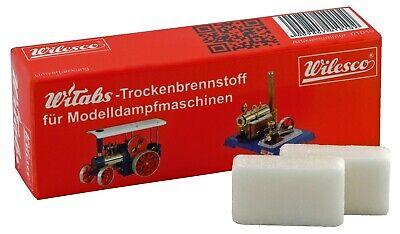 Trockenen Dampf (Trockenbrennstoff Witabs 12 Tabletten Dampfmaschine Wilesco 01010)