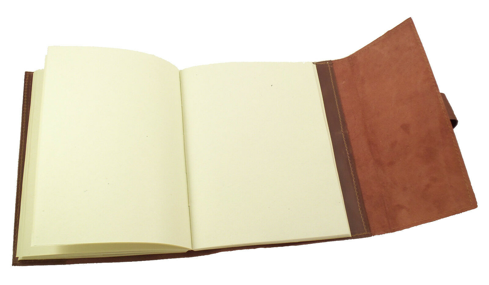 Refillable Leather Journal Sketchbook Travel Notebook Blank Diary Vintage Rustic 2