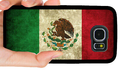 MEXICO MEXICAN FLAG PHONE CASE FOR SAMSUNG NOTE & GALAXY S5 S6 S7 S8 S9 S10 PLUS](Flag Holder Case)