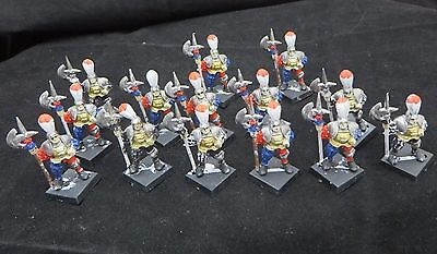 Warhammer Empire Statetroopers Halbadiers of Altdorf plastic  long OOP army lot