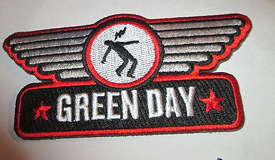 GREEN DAY COLLECTABLE RARE VINTAGE PATCH EMBROIDED 2005 METAL LIVE