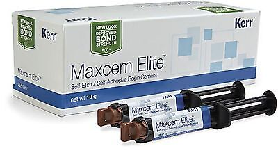 Kerr Maxcem Elite Self-etch Self-adhesive Resin Cement Dental Permanent Cement