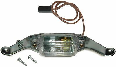 1968-72 Oldsmobile Cutlass 442 License Plate Light Assembly w/ GUIDE LENS  F-85