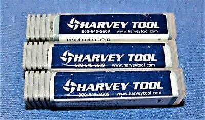 Brand New Harvey Tool Carbide 3 Flute End Mills 316 Dia. 3 Pcs Lot