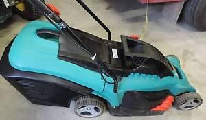 Bosch Rotak 43 Electric Rotary Lawn Mower - As New Kialla Shepparton City Preview
