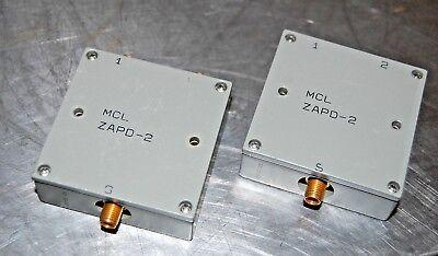 Mini-circuits Zapd-2 Power Splitter Lot Of 4