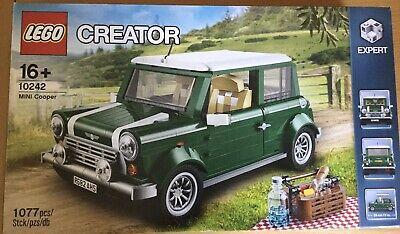 LEGO Creator Expert Mini Cooper 10242 Complete Rare.