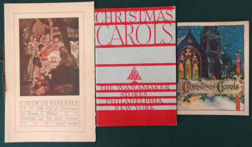 Christmas Carol Books Wanamaker Department Store John Hancock, Simon Disciple