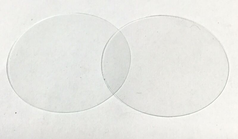 (3) Phonograph Reproducer/Recorder TEMPERED glass diaphragm Edison/Graphophone