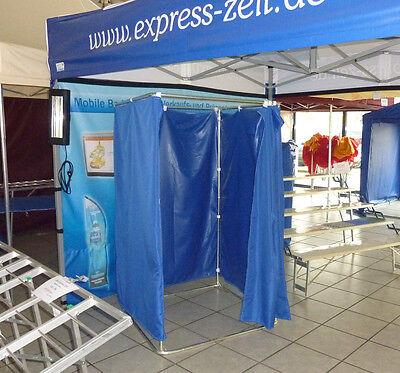 Mobile Umkleidekabine 1 x 1m Umkleide Kabine Ankleidekabine Camping Duschkabine