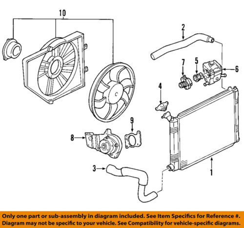 2003 ford taurus radiator diagram ford radiator diagram #13