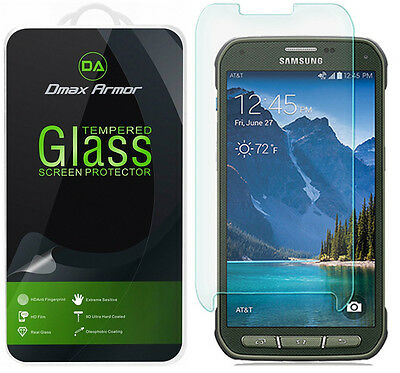 Dmax Armor® Samsung Galaxy S5 Strenuous Tempered Glass Screen Protector Saver