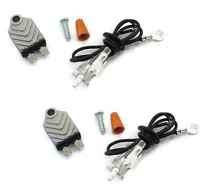 Electronic Ignition Igniter ((2) Universal ELECTRONIC TRANSISTORIZED IGNITION IGNITER MODULES replaces)