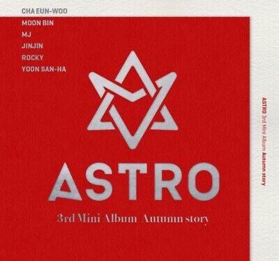 ASTRO 3rd Mini Album [Autumn story] RED Ver CD+P.Book+Post+2p Photocard+ID Photo