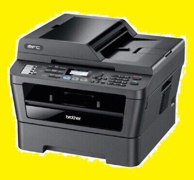 Brother MFC-7860DW Printer w/ NEW Toner & NEW Drum -- REFURBISHED !!! Black Laser Copier Drum