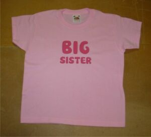 Kids Personalised Big/Little Brother or Sister T-Shirt