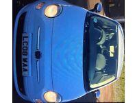 **BARGAIN** FIAT 500 1.2cc SPORT*Baby Blue*Stunning Spec**BARGAIN £2900**