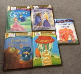 5 First Readers storybooks