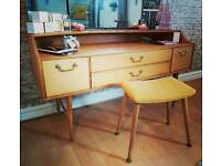 Retro and vintage furniture,drawers,desk,dressing table, custom made. Not available anywhere else