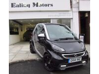 2014 SMART FORTWO GRANDSTYLE,ONLY 4500MILES,SAT NAV,LEATHER,1 OWNER,FULL SMART HISTORY,PAN ROOF,AC
