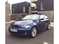 BMW 123d M Sport 204BHP - LEATHER - FBMWSH - LOW 38K MILES!!! not 120d 118d 320d