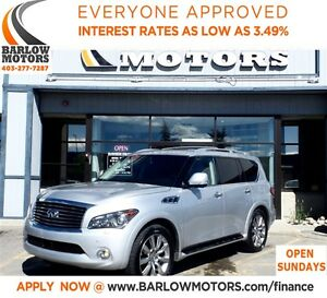 2013 Infiniti QX56 7 PSNGER/FULLY LOADED-DVD**SUV & TRUCK SALE**