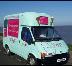 Ice Cream Van Caprigani. Full yrs MOT