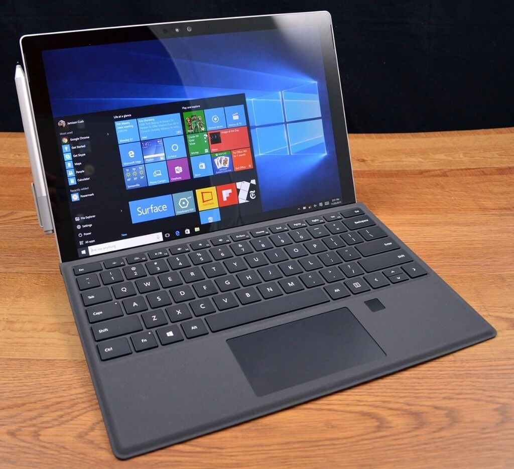 sold surface pro 4 i5 8gb 256gb fingerprint keyboard in liverpool street london gumtree. Black Bedroom Furniture Sets. Home Design Ideas