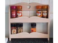 Debenhams Ashley Thomas Spice Rack. Holds 12 spice jars.