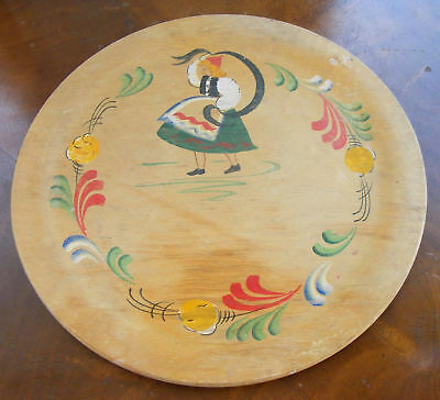 Vintage Woodcraftery Plate