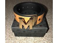 Men's MCM Tan colour belt size 110cm