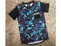 Genuine Hero's Heroine Blue Camo T-Shirt