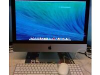 "iMac Slim line 21.5""Late 2012 2.7 GHz, Core i5, RAM 8GB,Hdd 1TB. Excellent condition. Ready"