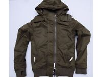 Mens Superdry Professional The Windbomber - Small (Army Green)