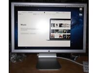 """APPLE MAC A1081 20"""" CINEMA DISPLAY MONITOR INC ORIGINAL POWER SUPPLY. TESTED AND FULLY WORKING."""