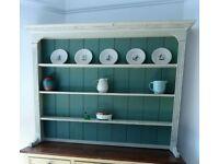 Painted wooden bookcase shelves dresser wall shelves HALO furniture