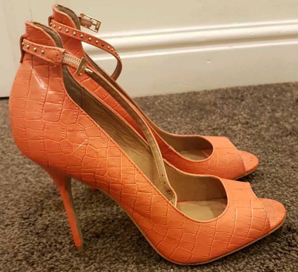 704d25b3920 River Island coral shoes size 6 | in Liverpool, Merseyside | Gumtree