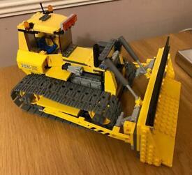 LEGO bulldozer. Large Lego set