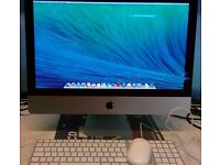 "iMac SlimLine 21.5"" , Intel core i5 2.5 Ghz, 1 TB HDD, 8GB Ram, OSX EL Capitan, Office 2011"