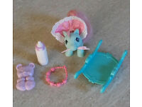 Vintage My Little Pony G1 Baby Accessories Lot 1