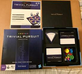 TRIVIAL PURSUIT Master Edition 2009 Hasbro Board Game. Complete And VGC.
