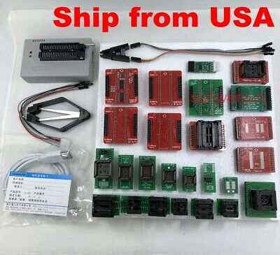 Xgecu Tl866ii Plus Programmer For Flash Nand Eprom25 Adaptersclip Ship From Us