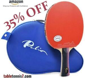 +++ 35% OFF on PREMIUM QUALITY Palio 3 Star PING PONG PADDLE - ITTF APPROVED with FREE CASE +++